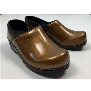 SANITA Professional Leather Clog Shoes 37 6.5 7